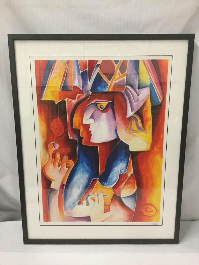 Prince of Meudon by Alexandra Nechita. 2008. Lithograph. Signed and Numbered 220/229. Includes COA