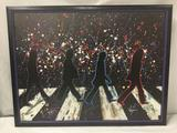 Print of Abbey Road by KAT. 2010. Numbered 2/250. Includes COA. in frame