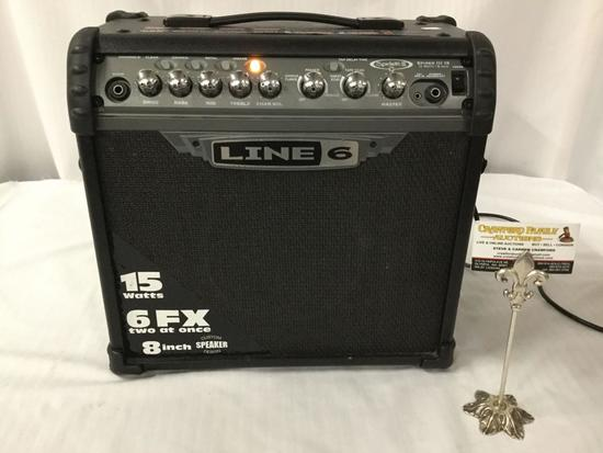 Line 6 - Spider III 15 - practice amplifier with effects, tested and working