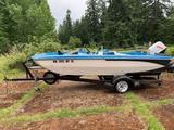 1962 LITD Boat w/ 40 horse suzuki outboard / elect motor and 1968 REBUILT GLA 15ft trailer