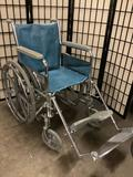 Tuffy wheelchair with foot rest attachments