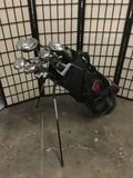 Callaway Golf Bag with Bazooka JMax Clubs, Clubs and bag are 50 inches tall