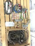 Large Lot Vintage Fresh + Salt Water Fishing Tackle - Lures Sinkers + More