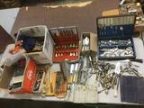 Huge Lot Hundreds of Flatware Pieces - Silver Plate, Stainless Steel + More