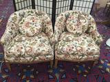 Vintage Tomlinson chairs that have been custom upholstered by T&M in Tacoma, WI