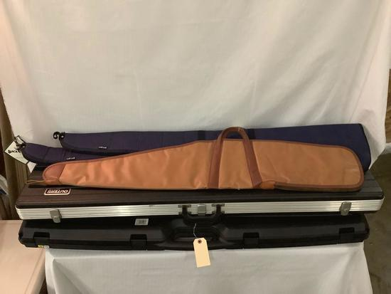 Lot of 5 rifle cases - 2 Black Sheep cloth gun cases, Bucheimer #6546, Gun Guard etc see desc