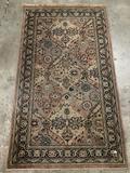 Antique MJW Whittall Angelo-Persian Wilton wool carpet/rug, pattern no. 351