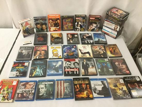 40 + DVD movies incl. action, sci-fi, drama, comedy and classic films - see desc & pics