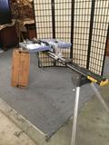 1 Rotozip Revolution SPiral Saw REV01, Dewalt Work Stop Work Horse, & a Dewalt miter saw board