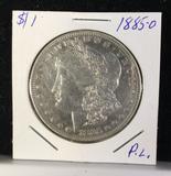 Proof-like 1885-O silver Morgan Dollar