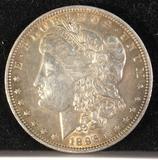 1896-P silver Morgan dollar