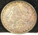 1898-P silver Morgan dollar