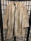Antique Ronay-Mullen Fie Furs long fur coat, has some tears, approx 18x43 inches.