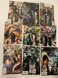 9x comic books Topps - The X Files 5,6,7,8,9,10, annual 1, collection TPB, Marvel Comics Men in