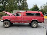 Very Nice 1992 Ford F350 7.3 L Turbo Diesel 4x4 Pick up w/ canopy In good running condition See desc