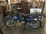 Vintage Diamo LS200 197CC enduro motorcycle in good running cond, only 490 miles!