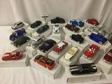 22 die-cast replica cast cars by Maisto & Jada Toys - Viper GT2, Camaro, Victoria, etc see desc