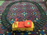 Children's riding electric train set Mighty Casey with track, needs charger to be tested as is