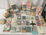 Lot of 150+ Japanese vintage & modern paperback books - poetic, romantic, and more