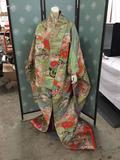 Authentic Japanese bridal kimono with gorgeous details in very nice condition