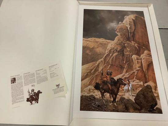 Canyon Lands by Frank McCarthy signed & #'d 776/1250 limited edition print