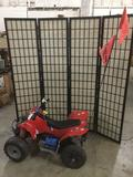 Red Peg-Perego electric ATV toy - tested and running great!