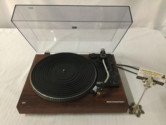 MCS series Modular Component Systems turntable model no. 683-6502, needs belt, powers up