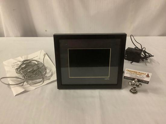 Ceiva digital picture receiver, landline telephone image display, tested and working, w/ cords and