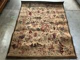 Shaw wool rug, style: 3X809, color: chablis/ natural made in 2003 - 61 x 47 inches