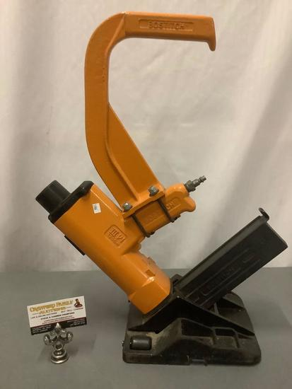 Bostitch model M III pneumatic floor stapler / flooring nailing tool