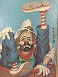 Rodeo - framed Red Skelton ltd ed repro canvas print w/COA, #'d 665/5000, & signed