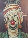 Swami - framed Red Skelton ltd ed repro canvas print w/COA, #'d 183/5000, & signed