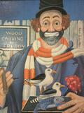 The Woodcarver - framed Red Skelton ltd ed repro canvas print w/COA, #'d 180/5000, & signed