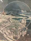 Hand signed and numbered print of The Sentinel by Bev Doolittle. 14704/35000. approx 29x25 inches