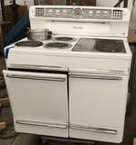 Vintage 50's Monarch FH188W iron range oven - comes with manual, good cond