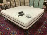 King Size LifeStyles adjustable bed frame BeautyRest Recharge Signature Select Luxury Firm mattress