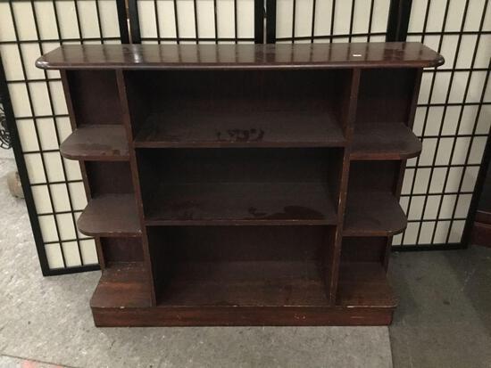 Vintage display shelf.