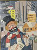 Love Thy Neighbor - framed Red Skelton ltd ed repro canvas print w/COA, #'d 566/5000, & signed