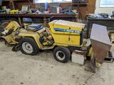 General Electric Electrak E15 all-electric garden tractor w/ service manual/attachments. Sold as is.
