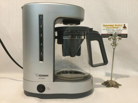 Zojirushi coffee maker , model no. EC-DAC50, approx 11x 10x 5 inches