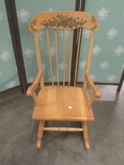 Vintage Hedstrom children?s rocking chair.