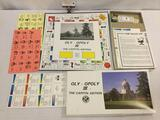 1989 Oly-opoly III Capitol edition city of Olympia monopoly game. As is.