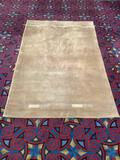 Nourison Ottoman Collection OT34 OLI wool rug. Measures approx 5 feet 3 inches x 8 feet 3 inches.
