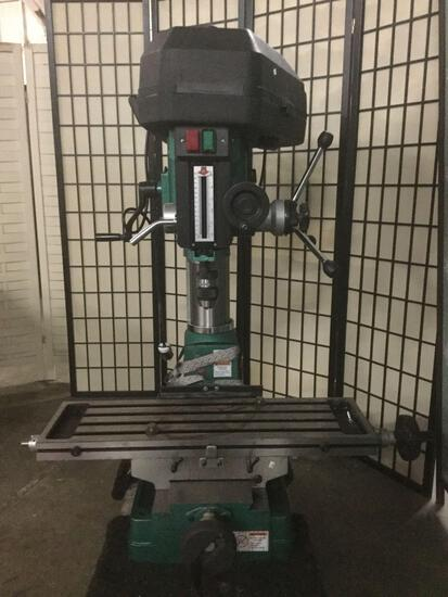 Grizzly Model G1006/G1007 Mill/Drill w/ 12 speeds & 2 HP 1-Phase motor tested/working
