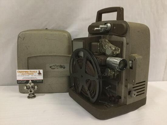 Vintage Bell & Howell Autoload 17 to 27mm Film Projector Model 255 AS (Chicago) tested & powers on
