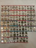Collection of 26 US proof sets from 1973-1977. Some include errors.