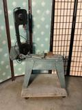 Vintage Dayton Tradesman 3Z360G Metal Cutting Bandsaw. Tested and working. Approx 53x43x17 inches.