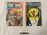 2 DC Batman comics - A Lonely Place of Dying - #442 first Tim Drake, Batman #368 first Jason Todd