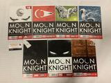 2014 Marvel Comics Moon Knight issues #1-7 comic book run. Warren Ellis, Brian Wood and more!
