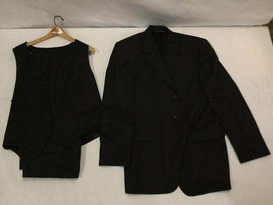 Paul Dione men's tailored suit, made in Canada